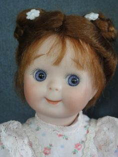 googlie35 (3) Old Dolls, Antique Dolls, Vintage Dolls, Doll Wigs, Kewpie, Beautiful Dolls, Make You Smile, French Antiques, Wig Hairstyles