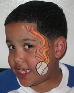 Cheek Face Painting Ideas | Photo Gallery » Face Painting Gallery Funtastical Faces Orlando, FL
