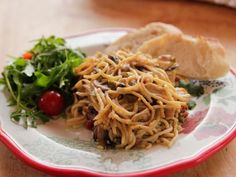 Get Spicy Chicken Spaghetti Recipe from Food Network
