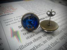 12 mm Harry Potter Stud Earrings Ravenclaw Crest by happygeeks