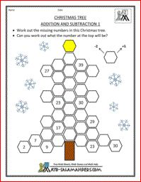 math worksheet : a christmas math codebreaker challenge work out the  : Worksheets Of Maths For Class 1