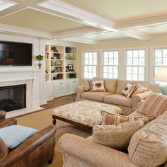 Family Room - traditional - family room - louisville - Michael Cadden . Promaster Design+Build