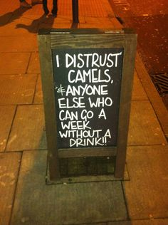 Raise a glass to the best and most creative chalkboards known to man.