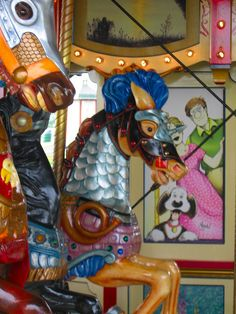 Carousel Armored Horses