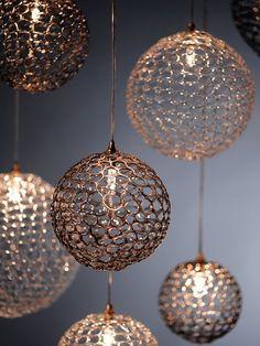 BREATH: MOD - Pendant lamp by Shakuff - exotic glass lighting & decor Custom Lighting, Home Lighting, Chandelier Lighting, Modern Lighting, Lighting Design, Dramatic Lighting, Outdoor Lighting, Chandeliers, Decor Crafts