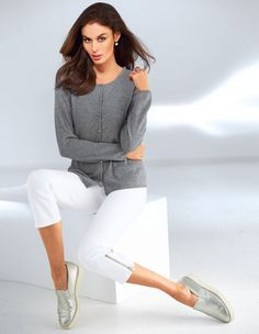 Women`s cashmere sweater.
