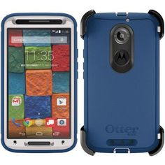 Otterbox Motorola Moto X 2nd Gen. Defender Case - Blue Chill