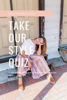 Personal Style Quiz, My Style Quiz, What's Your Style, Fashion Style Quiz, Types Of Fashion Styles, Fashion Outfits, Style Ideas, Style Inspiration, Clothing Boxes