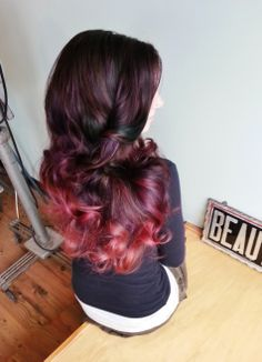 Ombre coloring by Stephanie Strowbridge