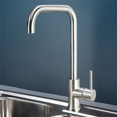 Dorf WELS 5 Star 6L/min Stainless Steel Maximus Sink Mixer I/N 5002697 | Bunnings Warehouse