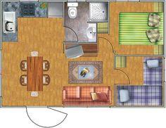 Perfect little floorplan