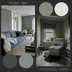 Moodboard voor een project van Konijnendijk Wonen. Inspired BY COLOR #ankemosselman