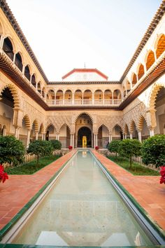 The Royal Alcazar in Seville, Spain