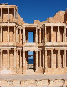 Roman Theatre, Sabratha, LIBYA