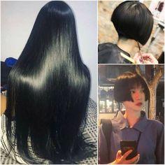 Long To Short Hair, Long Hair Cuts, Long Hair Styles, Short Bob Haircuts, Short Hairstyles, Beautiful Long Hair, Gorgeous Women, Buzz Cuts, Amazing Transformations