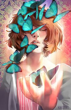 Max Caufield  Life is Strange Print by KikiJenkinsArt on Etsy