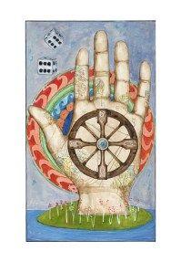The Wheel Of Fortune Card pigment print on hot press, rag, fine art paper 20 x (on 26 x paper) edition of 50 Fortune Cards, Wheel Of Fortune, Oracle Cards, Tarot Decks, Insta Art, Fine Art Paper, Symbols, Instagram Posts, Prints