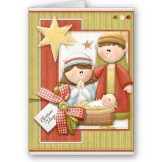 Christmas Card Nativity Scene by AnnounceIt