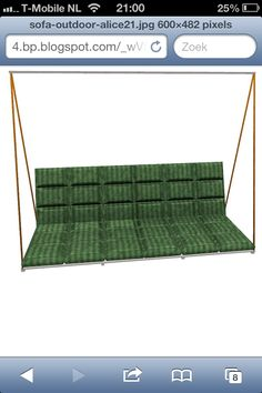 Swing couch outdoor