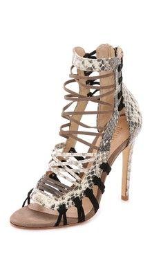 Schutz Eveline Woven Sandals | SHOPBOP