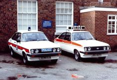 Here you will find photographs of Police vehicles used in Liverpool from the past. Escort Mk1, Ford Escort, Weird Cars, Cool Cars, British Police Cars, Classic European Cars, Emergency Vehicles, Police Vehicles, Ford Rs