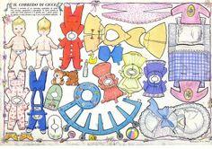 corriere dei piccoli - paper doll by sonobugiardo, via Flickr