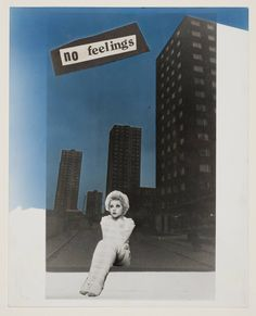 Jamie Reid 'No Feelings', 1977 © Jamie Reid, courtesy Isis Gallery, London