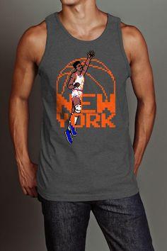 8 BIT APPAREL NEW YORK LEGEND BASKETBALL TANK @ Jack Threads