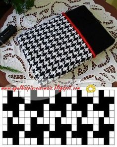 seed bead patterns, houndstooth check - Google Search