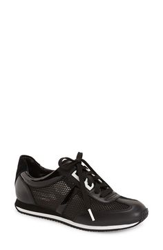 MICHAEL MICHAEL KORS 'Maggie' Perforated Sneaker (Women). #michaelmichaelkors #shoes #