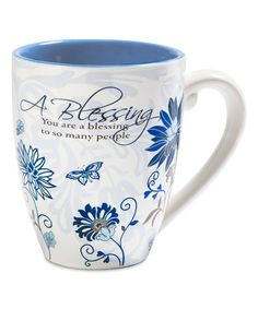This 'You Are a Blessing to So Many People' Mug is perfect! #zulilyfinds