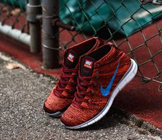 "Nike Free Flyknit Chukka ""Brown & Burgundy"""
