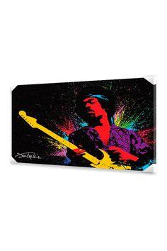 Ace Framing Jimi Hendrix - Paint, Canvas, 24 x 36 - Beyond the Rack