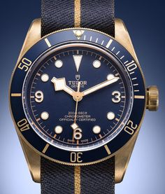 The new Tudor Heritage Black Bay Bronze Blue watch with images, price, background, specs, & our expert analysis. Tudor Black Bay Blue, Tudor Black Bay Bronze, Tudor Bronze, Tudor Heritage Black Bay, Tudor Submariner, Rolex Submariner, Rolex Watches, Watches For Men, Tudor Pelagos
