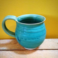 Your place to buy and sell all things handmade Stoneware Mugs, Ceramic Cups, Kitchenware, Tableware, Pottery Mugs, Coffee Cups, Turquoise, Ceramics, Landscape