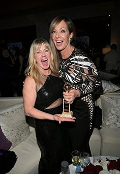 'I, Tonya' stars Allison Janney, Margot Robbie were sad Tonya Harding thought their portrayals were accurate Tonya Harding, Golden Globes After Party, Golden Globe Award, All Black Dresses, Allison Janney, The Beverly, Beverly Hilton, Teen Choice Awards, Hollywood Star