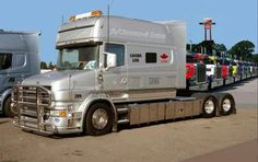 Long and lovely scania