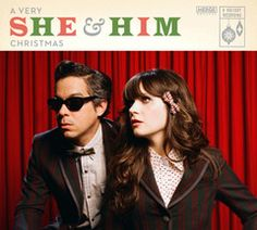 She & Him Christmas album coming out Oct. 25. Can't wait!