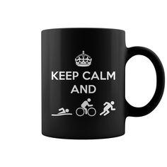 Keep Calm and Do Triathlons Coffee Mug - https://www.sunfrog.com/118411242-540908858.html?68704