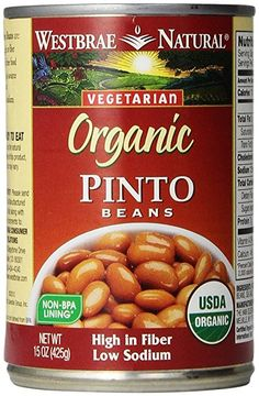 Low or No Sodium Canned Beans or Vegetables