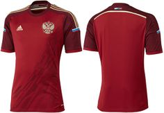 2014 World Cup Kits: Russia #WorldCup2014 #Brazil2014 #Football