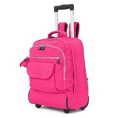 Kipling Women's Sanaa Wheeled Backpack  http://www.alltravelbag.com/kipling-womens-sanaa-wheeled-backpack/