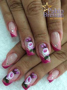 Elegant Nail Designs, Elegant Nails, Nail Art, Beauty, Work Nails, Stickers, Best Nails, Nail Manicure, Fingernail Designs