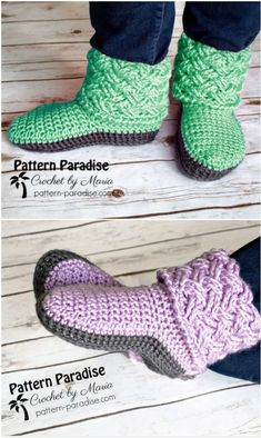 Crochet Slippers Free Patterns That Are Fun To Make