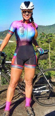 Milf spandex bike shorts