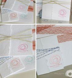 ARDEN PRUCHA Photography - Logo letterpress - love
