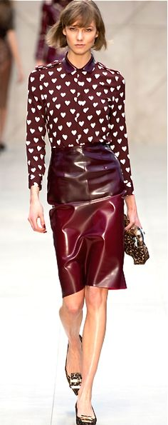 Burberry Prorsum  Latex is several colors sold at http://www.mjtrends.com/categories-.30mm,Latex-Sheeting