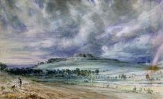 john constable   John Constable >> Old Sarum   (huile, reproduction, copie, tableau ...