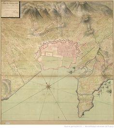Plan de Toulon et de ses environs, ensemble les nouveaux ouvrages faits en…