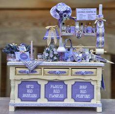 """The Lavender Lady"" by Iris Arentz | 'ministromberg - poppenhuizen en miniaturen' (German for: dollhouses & miniatures) | 23 mei 2014"
